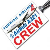 THY Turkish A321 Tag